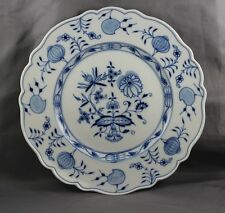"""Meissen Blue Onion Dinner Plate 10 3/4"""" Sold Individually 1St Quality"""