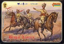 Strelets Models 1/72 BOER WAR BENGAL LANCERS Figure Set