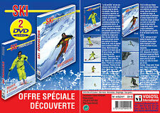 Lot 2 DVD Ski : Le ski parallèle Initiation & Le ski perfection  - Ski alpin