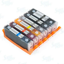 6 Pack Refillable Ink Cartridges for Canon PGI-270 XL CLI-271 XL PIXMA MG7720