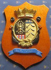 Delfzijl M851 Minenabwehrfahrzeug Niederlande Wappen Navy