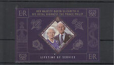 St Helena 2011 MNH Lifetime of Service 1v Sheet Prince Philip Queen Elizabeth II
