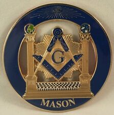 Freemason Masonic Cut Out Car Emblem