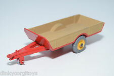 DINKY TOYS 320 HALESOWEN FARM TRAILER EXCELLENT REPAINT