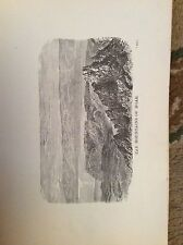 u1-3 ephemera 1890 religious book plate the mountains of moab