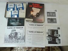 FLAMES OF FREEDOM  Commodore Amiga Game by MICROPLAY