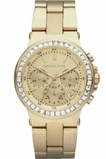 BRAND NEW MICHAEL KORS MK5623 MINI DYLAN GOLD TONE CRYSTAL GLITZ WOMEN'S WATCH