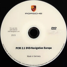 Porsche  PCM 2.1 DVD Maps 2015 Navigation Europe