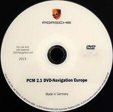 Porsche  PCM 2.1 DVD Maps 2015-2016 Navigation Europe