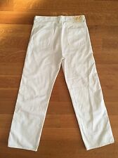 45RPM Japan Mens White Denim Jeans 30 x 30 $485 Made in Japan