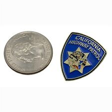 CHP California Highway Patrol Police Shoulder Patch Lapel Pin Hat Tie Tac