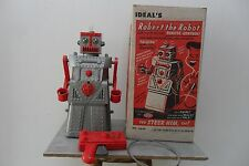 Rare Robert the Robot Remote Control by Ideal Toys Made USA 1950's Box