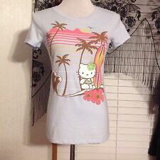 OLD NAVY COLLECTABILITEES SHIRT SIZE XSMALL HELLO KITTY BEACH SURF BOARD