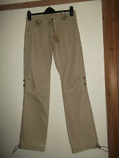 LADIES CRIMINAL HELICOPTER SAND CARGO TROUSERS SIZE W31 L33