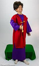 3 Kings Child's Biblical Costume Christmas Wisemen 3 Piece Robe Cloak & Sash MD
