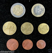 Luxembourg coins set of 8 pieces 2005-2008