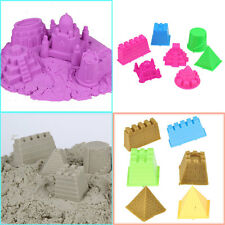 7Pcs/Set Large Size Portable Castle Sand Sandcastle Beach Sand Toy Children