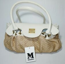 MISSONI 'Linea Energy'  Beige and Putty Fabric HandBag