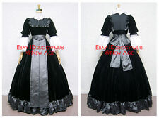Gosick Victorique de Blois Cosplay Costume Outfit Dress Headdress