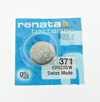 Renata SR920SW (371) Silver 1.55 V watch battery