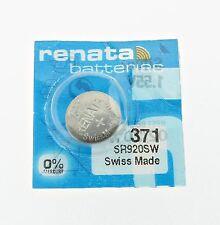 Renata SR920SW (371) Silber 1.55 V uhr batterie