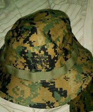 USMC MARPAT Field Cover Boonie Hats,  Desert, size Medium