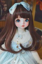 1/3 1/6 BJD Wig Long Curly Hair For BJD Dollfie brown,purple