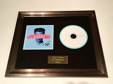 PERSONALLY SIGNED/AUTOGRAPHED TROYE SIVAN - TRXYE FRAMED CD PRESENTATION