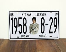 1958 Micheal Jackson 8-29 Metal Sign Tin Plate - 30x15cm
