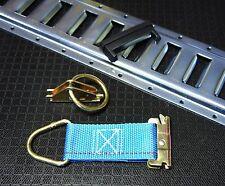 24pc E Track Kit 6 5' track, 6 E Rings, 6 Ties, 6 Plugs f Enclosed Trailer Van