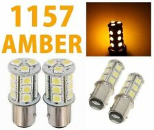 1157 BAY15D 18 SMD 5050 Yellow Amber Tail Turn Signal 18 LED Car Light Bulb Lamp