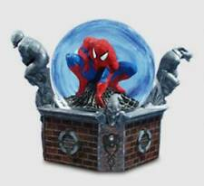 Amazing Spider-man Marvel Comics Movie Motion Globe Statue Spiderman .