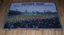 Boston Red Sox Fenway Park 'Home of the 2004 World Champions' woven Blanket