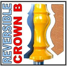 "1 pc 1/2"" Shank Reversible Crown Molding B Router Bit sct-888"