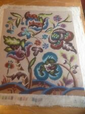 Jacobean Completed Canvas / Tapestry / Needlepoint