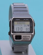 CASIO BP-300 BLOODPRESSURE PULSE watch Module 1101 Vintage Retro Made in Japan