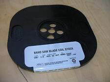 "Band Saw Blade Coil Stock 100' 1/4"" 32tpi  FREE SHIPPING! USA!"