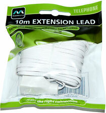 Masterplug 10 Metre Telephone Extension Cable