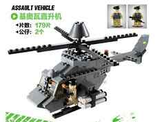 Building Block Bricks Military OH-58 Kiowa copter helicopter educational toy