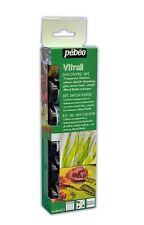 Pebeo Discovery Set Vitrail Transparent Glass Craft Paint - 6 x 20 ml Pots