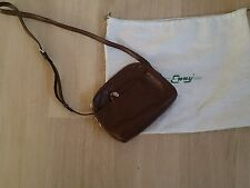 Enny Tan Leather Shoulder /Cross Body Bag - New  Made in Italy.