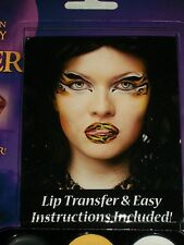 Halloween Tiger Latex Lip Transfer Costume Makeup Theater Stage