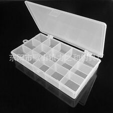 Plastic Storage Box Changeable Compartment Fishing Tackle Box, Beads, Jewellery