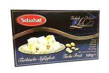 Sebahat mixed miel turcos con mixta frutos secos-karisik Lokum 500 G