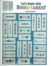 Let's Begin with Bookmarks Linda Bird Design Connection Cross Stitch Pattern NEW