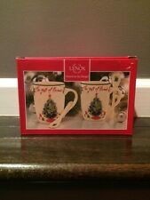 Lenox The Gifts of Friends Cocoa Mugs - NIB