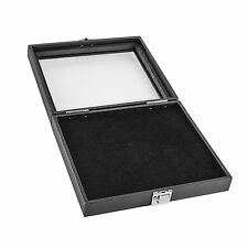 Black Wooden 36 Slot Ring Storage Box Display Case for Home by Super Z Outlet