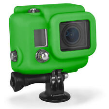 Xsories GoPro Silicone Protective Cover Skin for HERO3 HD3 Camera - Green