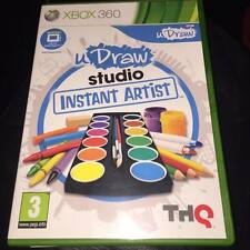 uDraw Studio Instant Artist  MICROSOFT XBOX 360 U DRAW
