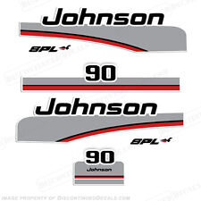Johnson 1998 90hp SPL Outboard Decal Kit - Decal Reproductions in Stock!